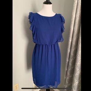 Blue breezy Enfocus dress